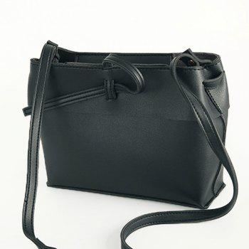 PU Leather Casual Crossbody Bag