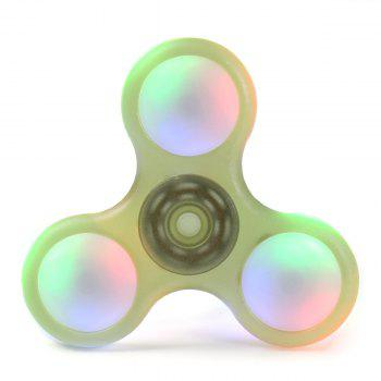 LED Light Plastic Finger Gyro Fidget Spinner