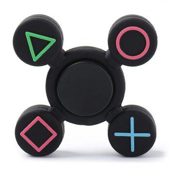 Geometry Pattern EDC Plastic Fidget Finger Spinner