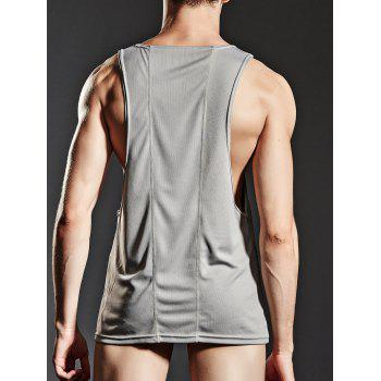 Suture Sports Breathable Tank Top - GRAY XL