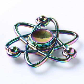 Fiddle Toy Flower Colorful Fidget Spinner - multicolorcolore