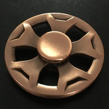 Fidget Metal Spinner Anti-stress Plaything - Or Rose