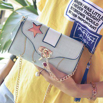 Chain Star Cut Out Crossbody Bag