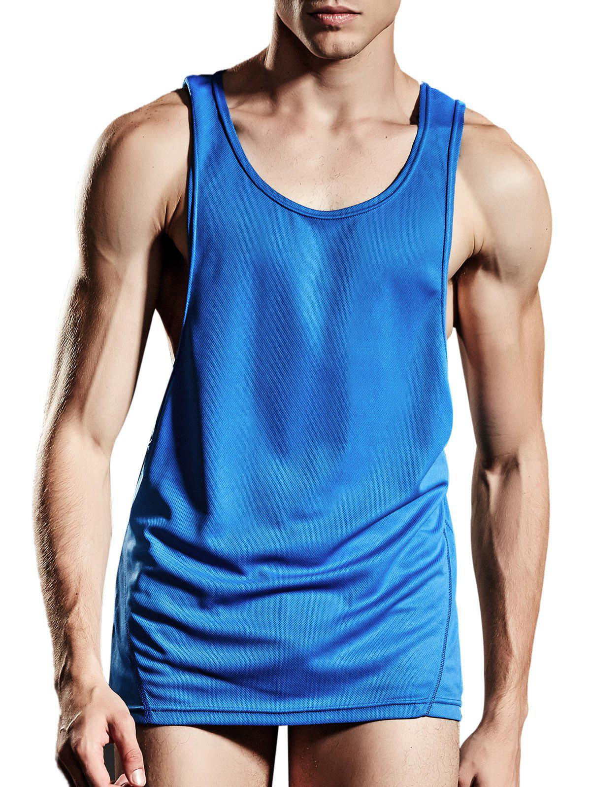 Suture Sports Breathable Tank Top - BLUE L