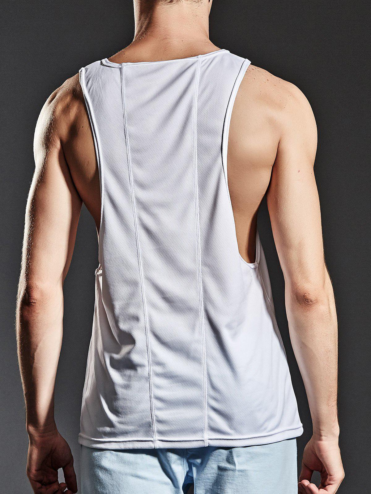 Suture Sports Breathable Tank Top - WHITE XL