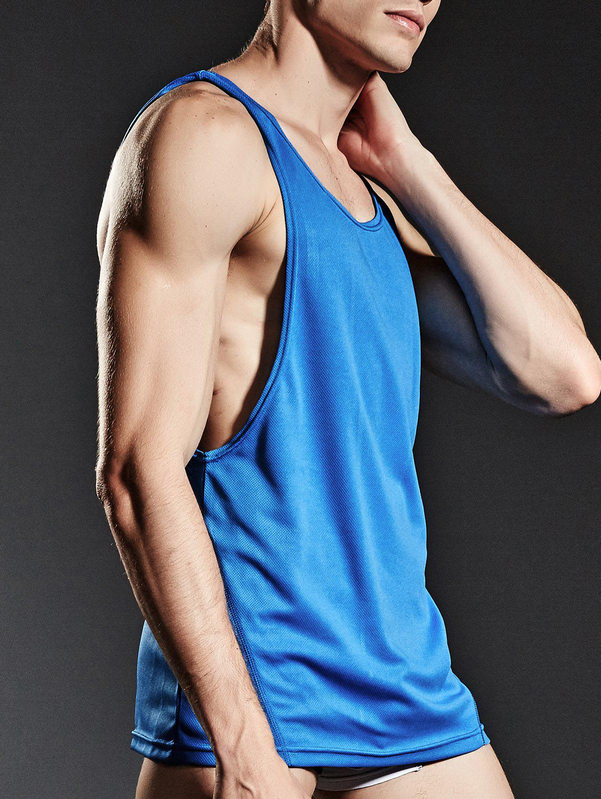 Suture Sports Breathable Tank Top - BLUE M