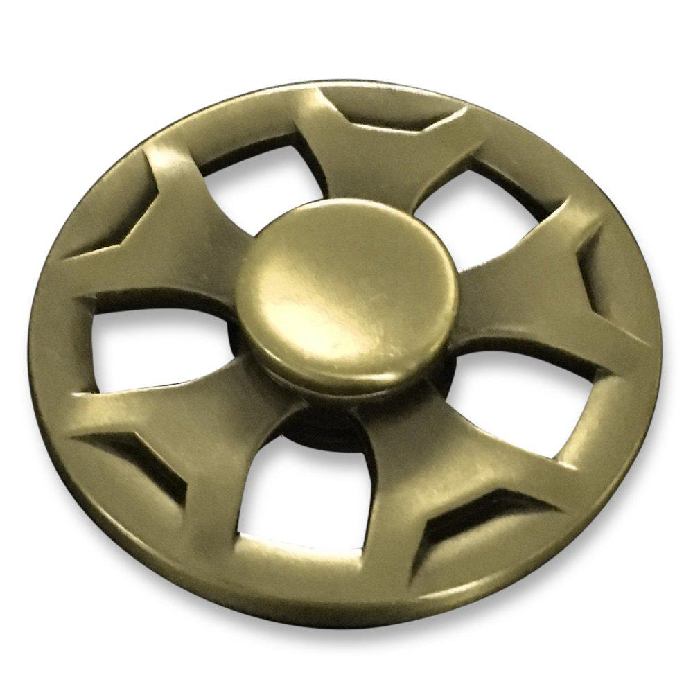 Fidget Metal Spinner Anti-stress Plaything - Or