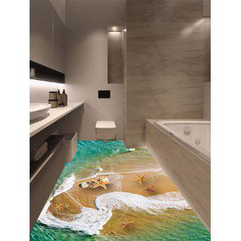 Beach Seafish Floor Sticker