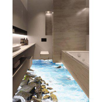 3D Rock Sea Floor Sticker