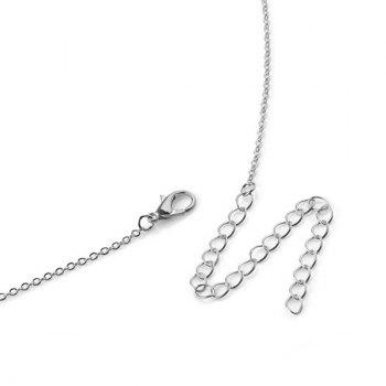 Adjustable Sequin Body Chain -  SILVER