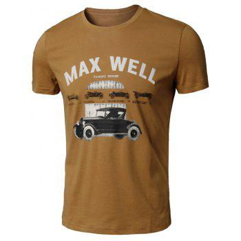 Car Print Graphic T-Shirt
