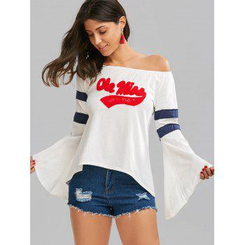 Bell Sleeve Graphic T-Shirt