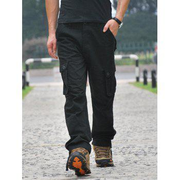 Straight Leg Front Pocket Cargo Pants