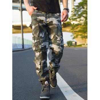 Camouflage Muti-pocket Cargo Pants