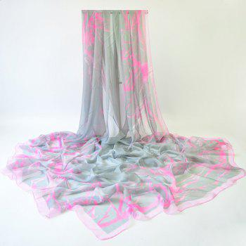 Plain Branches Printing Lightsome Scarf