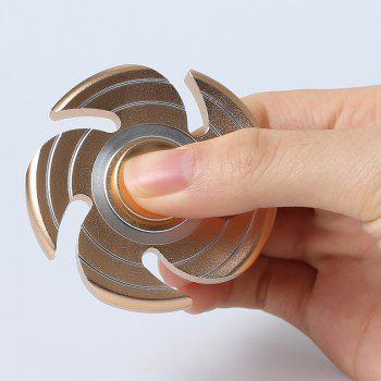 Fiddle Toy Whirlwind Fidget Metal Spinner - Or