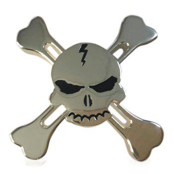 Stress Reliever Pirates Alloy Fidget Spinner Skull Finger Gyro
