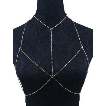 Geometric Circles Bra Body Chain