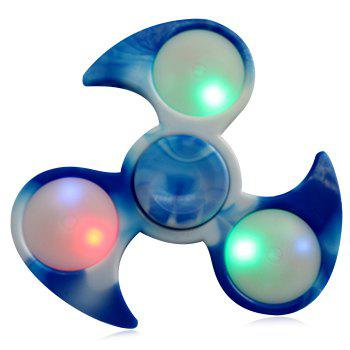 Tri-bar Fidget Spinner with Flashing LED Lights