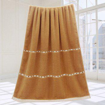 VIP Life Cotton Thickened Bath Towel - BROWN BROWN
