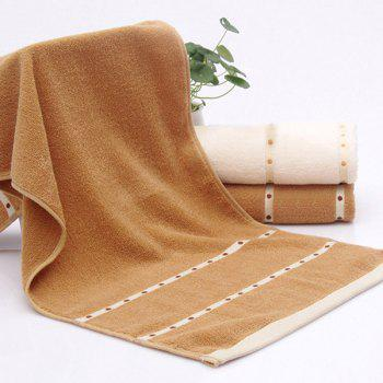 VIP Life Cotton Thickened Bath Towel -  BROWN