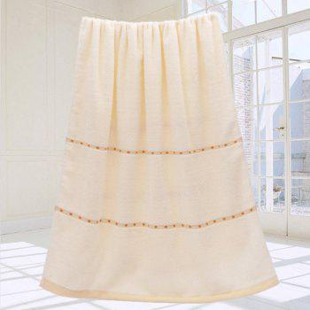 VIP Life Cotton Thickened Bath Towel - CANDY BEIGE CANDY BEIGE