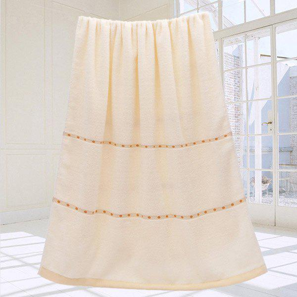 VIP Life Cotton Thickened Bath Towel - CANDY BEIGE