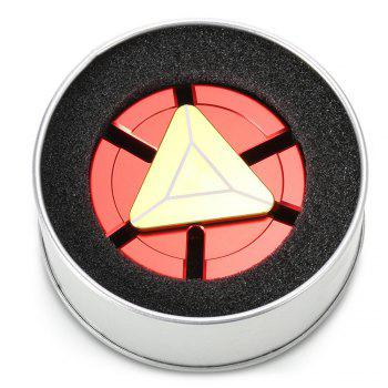 Circulaire à six lames EDC Finger Spinner - Rouge