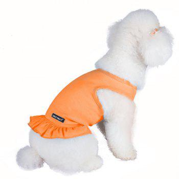 Spice Paws Cotton Pet Puppy Vest Dress - S S