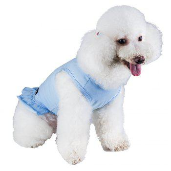 Spice Paws Cotton Pet Puppy Vest Dress