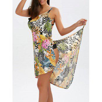 Open Back Cover-ups Hawaiian Dress