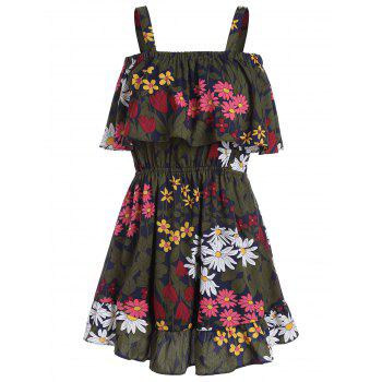 Flounce Floral Summer Dress