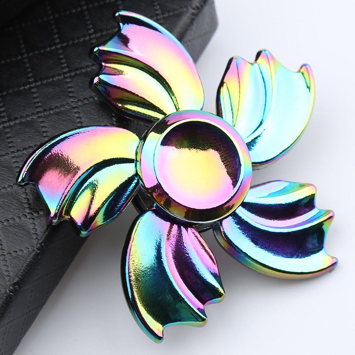 Colorful Fish Fin Metal Fidget Toy Hand Spinner, COLORFUL ...