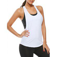 Racerback Workout Layering Running Vest