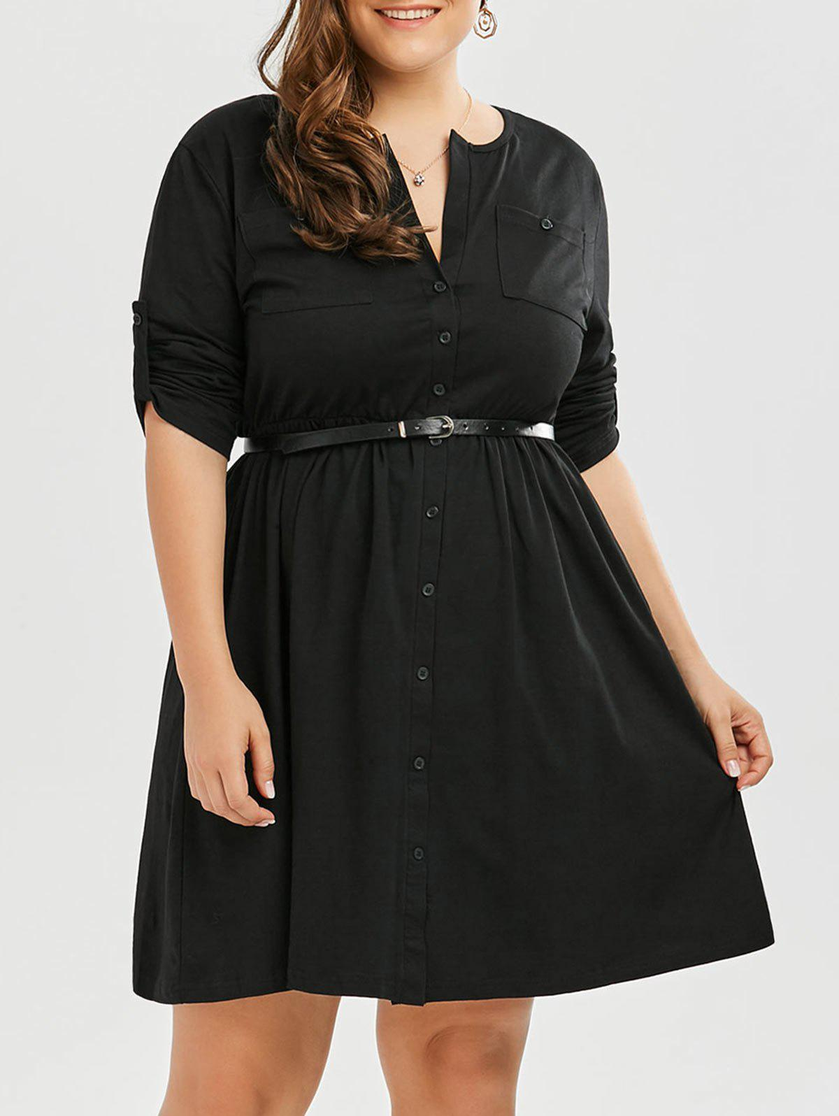 Robe Taille Up - Noir 2XL