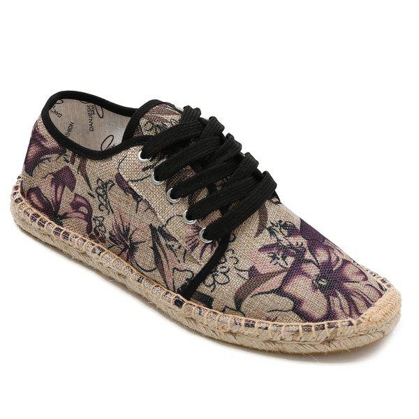 Floral Printed Espadrilles Flat Shoes administrative law case digest