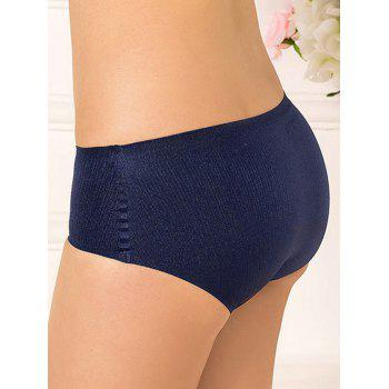 Full Coverage Plus Size Lingerie Briefs Panties - ROYAL ROYAL