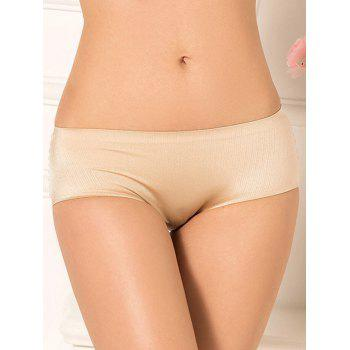 Full Coverage Plus Size Lingerie Briefs Panties - COMPLEXION 2XL