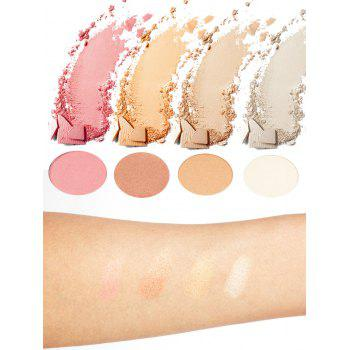 Halal Soft Mineral Highlighter Powder Palette - COLORFUL