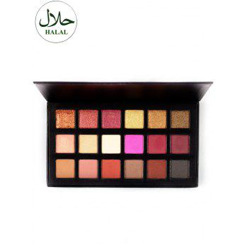 Palette Halal Mineral Powder Shadow Shadow