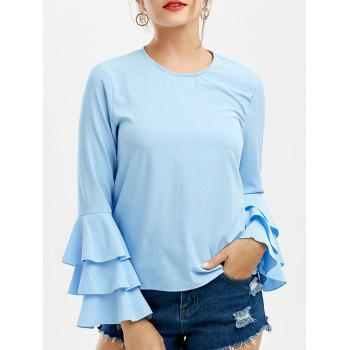 Flounce Long Sleeve Top