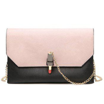 Chains Lipstick Cross Body Bag