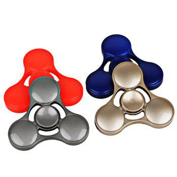 Plastic Stress Relief Toy Cool Hand Fidget Spinner - GOLDEN
