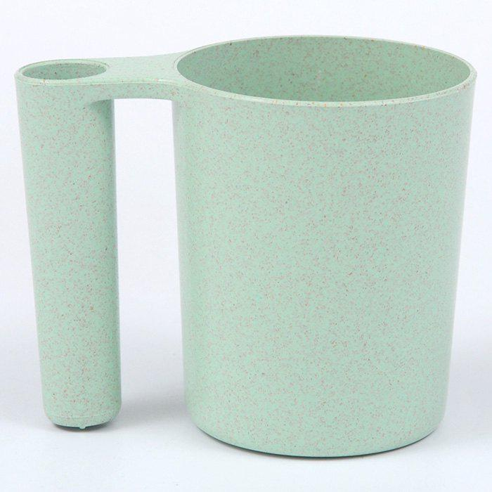 Wash Gargle Wheat Straw Tooth Mug Tasse à dents - Vert