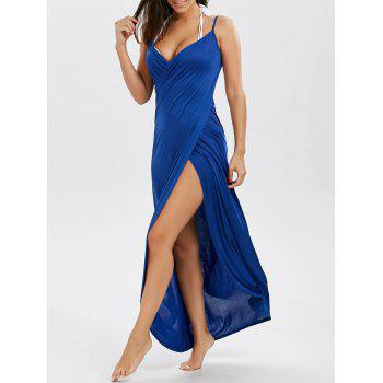 Convertible Maxi Wrap Cover-Up Dress