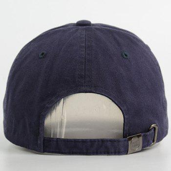 Letters New York Patchwork Baseball Hat - CADETBLUE ONE SIZE