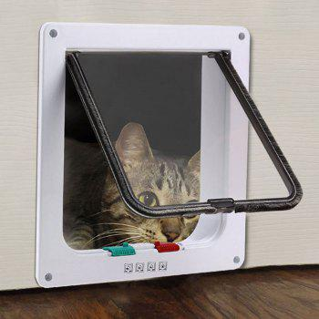 Pet Supplies Window Plastic Hole Dog Cat Door