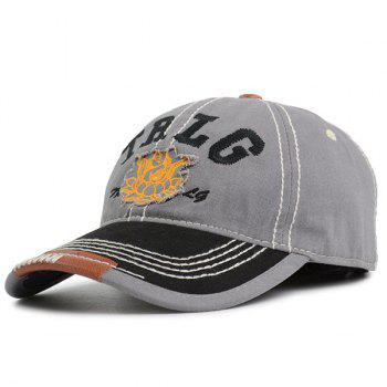 Letters Buddha Embroidery Baseball Cap