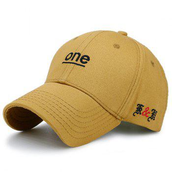 Letters Embroidered Baseball Hat