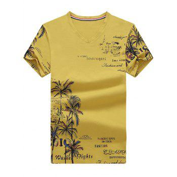 Coconut Palm Graphic Print Tee